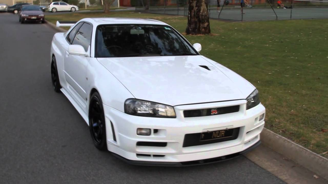 Nissan GT-R R34 Blow-off
